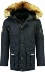 Donkerblauwe Geographical Norway Heren Winterjas Airline - navy - Maat S