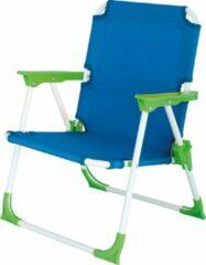 Azuurblauwe Eurotrail Campingstoel kids Nicky - azuur groen