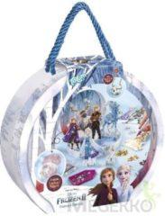 Blauwe Totum knutselset Frozen 2 Diamond Painting Studio 3000-delig