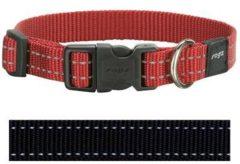 Rogz for Dogs Snake Hondenhalsband Verstelbaar Zwart 40 x 1,6 cm