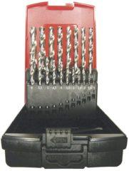 Makita P-73689 HSS Metaal-spiraalboorset 25-delig geslepen N/A Cilinderschacht 1 set