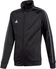 Zwarte Adidas Core 18 Trainingsjas - Maat 164 - Unisex - zwart