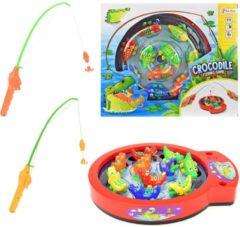 Toitoys Toi-toys Hengelspel Krokodil 13-delig 30 Cm Multicolor