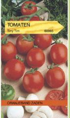 Groene Oranjeband Zaden Oranjebandzaden - Tomaten Tiny Tim Kers- Balkontomaten