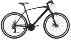 Hardtail Mountainbike 26 Zoll Larrikin Aluminiumrahmen KS Cycling schwarz