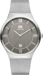 Zilveren Danish Design watches edelstalen herenhorloge Kalsoy Grey Large IQ64Q1240