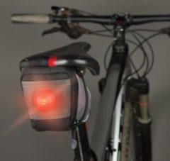 Grijze Nite Ize SaddleLite LED Bike Bag SDL-M1-R3 Fietslicht Fietslamp