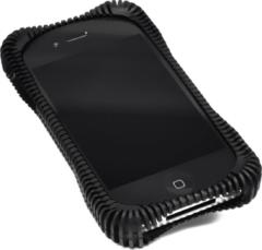 Ribbz Telefoonhoesje Iphone 4 / 4s Ultra schok bestendig - Zwart