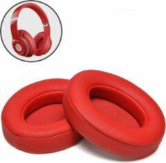 Mix-Media Oorkussens voor Beats By Dr. Dre Studio 2.0/3.0 wireless - Koptelefoon oorkussens voor Beats Studio rood