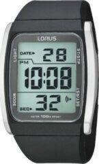 Zwarte Lorus R2303HX9 - Horloge - Kunststof - Zwart - Ø 40 mm