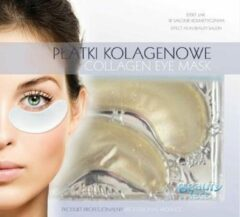 Dermarolling Beautyface Collageen Oogmasker Gold & Diamond
