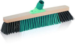 Groene Leifheit Xtra Clean outdoorbezem