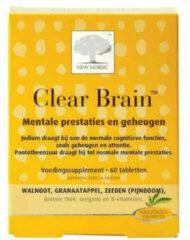 New Nordic Clear Brain 60 tabletten