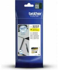 Brother LC-3237Y inktcartridge Origineel Geel 1 stuk(s)