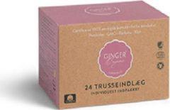 Ginger Organic Inlegkruisjes hygiënische pads 24st.