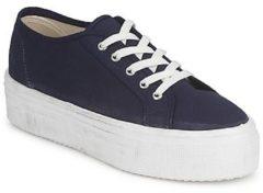 Blauwe Lage Sneakers Yurban SUPERTELA