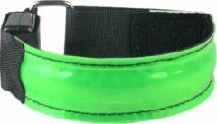 HotHotSale LED Hardloop Armband - Fiets - Outdoor Sport Armband - Reflecterende Hardloop Verlichting - GROEN