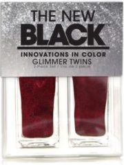The New Black Glimmer Twins - Crimson - Nagellak