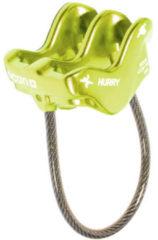Ocun - Hurry - Zekeringsapparaat groen/geel/grijs
