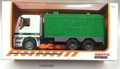 ARO toys Veegwagen 36cm groen/wit