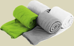 Sea to Summit Pocket Towel Mikrofaser Handtuch Größe M Lime