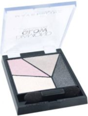 Maybelline Eye Studio Quad Diamond Glow Grey Pink Drama 4 Grijs Shimmer oogschaduw