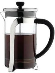 Zilveren Cafetiere Mode - Chrome 8 Cup - 1L - Cafè Ole