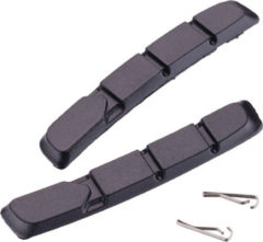 Zwarte Tektro 877.11 remblokken (voor in cartridge) - Remblokken voor velgremmen
