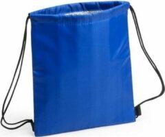 Merkloos / Sans marque Blauwe koeltas rugzak 27 x 33 cm - Koelboxen/koeltassen