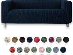 MeubelVisie Milos - Mint - 170cm tot 190cm - Hoes voor hoge arm zoals de Klippan bank van Ikea