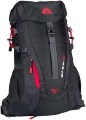 Rode Abbey Outdoor Rugzak Aero-Fit - Sphere 35L - Antraciet/Donkergrijs/Rood
