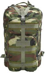 Groene VidaXL Rugzak legerstijl 50 L camouflage