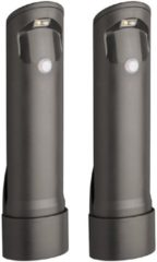 Zwarte Mr. Beams Compact Path Light - Sokkellamp - 30 Lumen - 2 Stuks