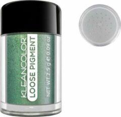 Groene Kleancolor Loose Pigment Eyeshadow - 1127 Spa Day