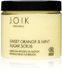JOIK Zoete Sinaasappel en Mint Suikerscrub PET-pot (210 gram)