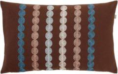 Bruine Dutch decor sierkussen fonta 30x50 cm bruin