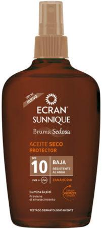 Afbeelding van Ecran Sun oil carrot SPF 10 spray 200 Milliliter