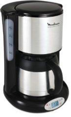 Thermo Kaffeemaschine mit Timer Moulinex silber