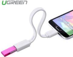 Ugreen Micro-USB Male USB 2.0 Female OTG Flat Cable Adapter