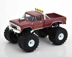 "Bordeauxrode Ford F-250 ""Goliath"" Monster Truck 1979 Kings of Crunch 1-43 Greenlight Collectibles"