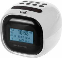 Trevi RC80D2 DAB - Klokradio met digitale ontvanger DAB / DAB+ / FM - wit