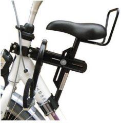 Zwarte Velo zadel op buis D mono / zadel op stang fietsstoeltje model 4