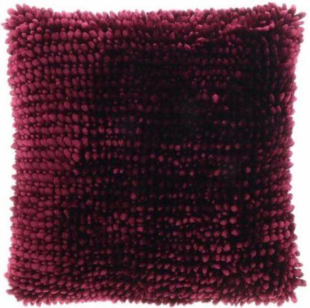 Afbeelding van Bordeauxrode Unique Living sierkussen Max - tawny port - 45x45cm
