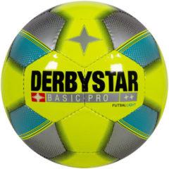 Gele Derbystar Futsal Basic Pro Light Zaalvoetbal Unisex - Maat 4