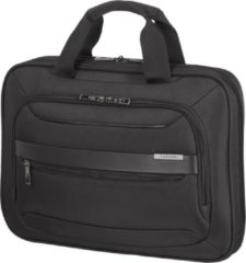 Zwarte Samsonite Laptopschoudertas - Vectura Evo Shuttle Bag 15.6 inch Black