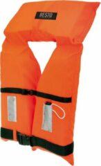 Besto Reddingsvest - oranje/zwart Maat Pupil: gewicht 20-30 kg / Drijfvermogen 40N