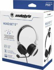 Snakebyte HEAD:SET 5 (PS5) Headset Hoofdband Zwart, Wit