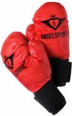 Angel Sports Bokshandschoenen Rood 10 Oz/283,5 Gram