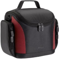 Zwarte Riva Case Riva 7229 SLR Case black/red