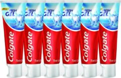 Colgate Blue Fresh Gel Tandpasta 6 x 75ml - Voordeelverpakking
